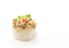 spicy tuna sushi Stock Photography