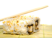 Spicy tuna sushi roll Stock Photography