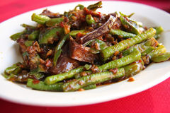 Spicy vegetables Stock Images