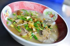 Spicy vegetables soup  , Thai style food Royalty Free Stock Photos