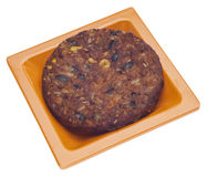 Spicy Vegetarian Black Bean Burger Stock Photography