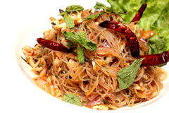 Spicy Vermicelli Stock Photo