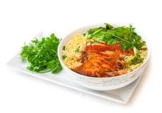 Spicy vietnam chicken soup Stock Photos