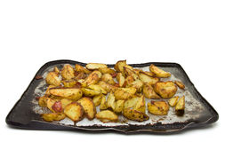 Spicy Wedges royalty free stock photography
