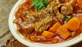 Spicy Welsh Lamb Stock Image