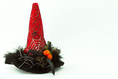 Spiczasty Red Hat Obrazy Royalty Free