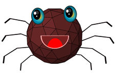 Spider cartoon Royalty Free Stock Images