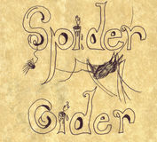 Spider Cider Stock Photography