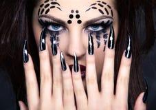 Spider girl Stock Photo