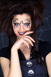 Spider girl Stock Images