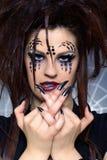 Spider girl Stock Photos