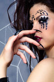Spider girl Royalty Free Stock Photo