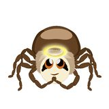 The spider Hauk is angel Stock Photography