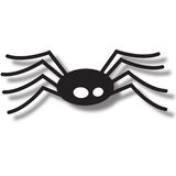 Spider Icon. A scary spider icon illustration for Halloween, isolated on a white background Royalty Free Stock Photos