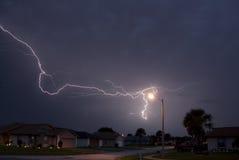 Spider Lightning Stock Photos