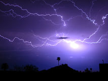Spider Lightning Stock Images