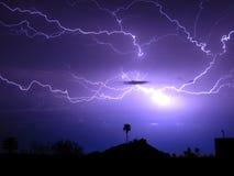 Spider Lightning Stock Images