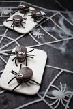 Spider macaroons Stock Photography