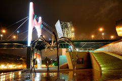 The Spider Maman at Guggenheim Bilbao Royalty Free Stock Photography