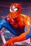 Spider man Portrait waxwork Royalty Free Stock Image