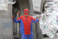 Spider-man Stock Photo