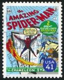 Spider-man. UNITED STATES - CIRCA 2007: stamp printed by United states, shows Spider-man, circa 2007 stock photos