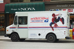 Spider-Man and the US Postal Service Stock Photography