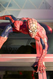 Spider man wax figure Stock Photography