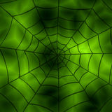 Spider net background Stock Images