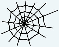 Spider net Stock Image