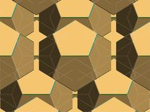 Spider Net Line Geometric Brown Kaleidoscope Vector Stock Images