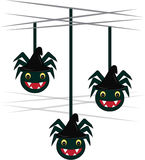 Spider Ornaments Royalty Free Stock Photography