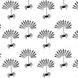 Spider pattern. A illustration of spider pattern Stock Images