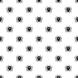 Spider pattern, simple style Royalty Free Stock Image