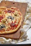 Spider pizza Royalty Free Stock Image