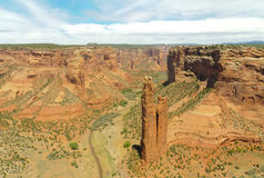 Spider Rock. And Canyon De Chelly National Monument Royalty Free Stock Photo