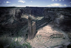 Spider Rock Royalty Free Stock Images