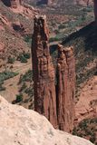 Spider Rock-Canyon De Chelly. Navajo nation royalty free stock images