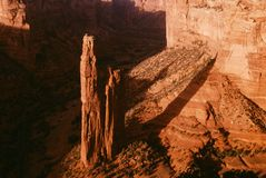 Spider Rock, Canyon De Chelly National Monument Stock Photography
