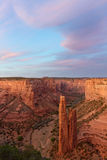 Spider Rock, Canyon de Chelly National Monument Stock Photo