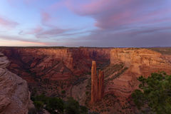 Spider Rock, Canyon de Chelly National Monument Royalty Free Stock Images