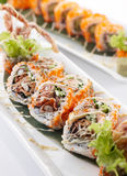 Spider roll maki Stock Photo