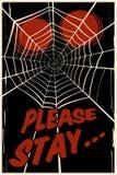 Spider's web background Stock Photo