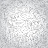 Spider's web background Stock Images