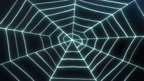 Spider's Web Loop Animation stock video footage
