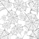 Spider's web. Vector. Royalty Free Stock Photography