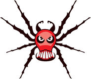 Spider skull Stock Photography