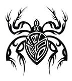 Spider tattoo design Stock Photography