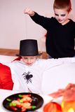 Spider trick Stock Images