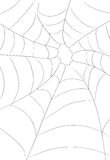 Spider Web. An illustration in line art of a spider web royalty free illustration